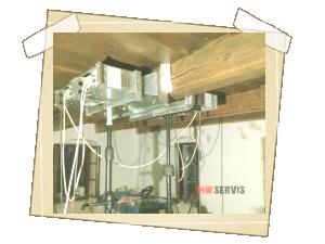 MW sanace stropních trámů