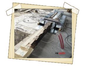 Detail komory z generátorů naší výroby
