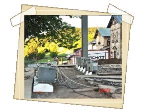 Práce probíhají v režii stavební a památkové hutě Archatt s.r.o. Brno