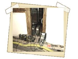 Sanace generátory v oblastech napadení + okolí