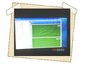 Vlastní měření a grafické znázornění na notebooku