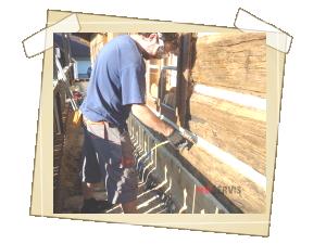 Vlastní napuštění dřeva kvalitním chemickým insekticidním přípravkem