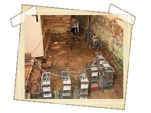Sanace odtěžené podlahy