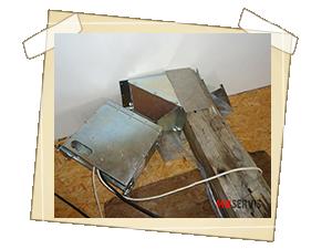 Mikrovlnné ošetření vazných trámů RD v okolí Vsetína