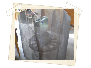 Odstínění mikrovln pomocí kovové tkaniny