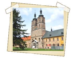 Celkový pohled na klášter- národní kulturní památka